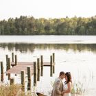 Wedding at Heartwood Conference Center in Trego WI
