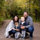 Fall Family Northwoods Wisconsin