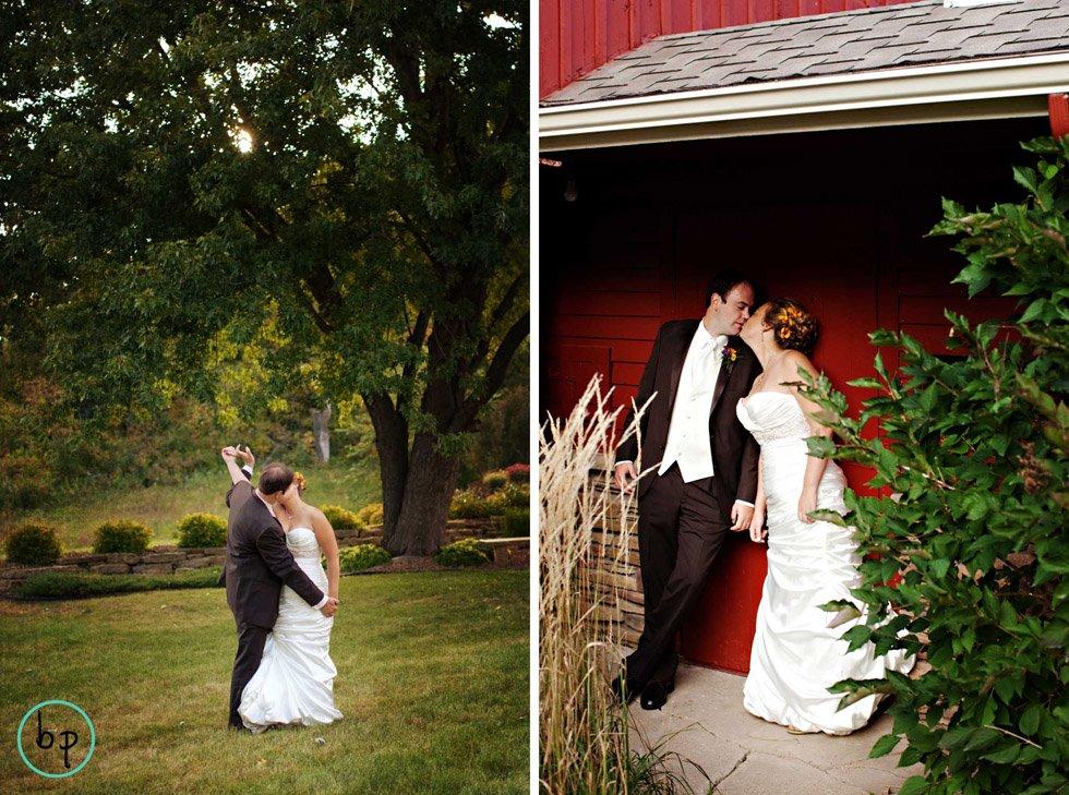 Fall Barn Wedding In River Falls