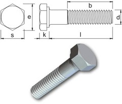 Tr Fastenings Bumax 174 Hexagon Sets Amp Bolts Bolt 100 Metric