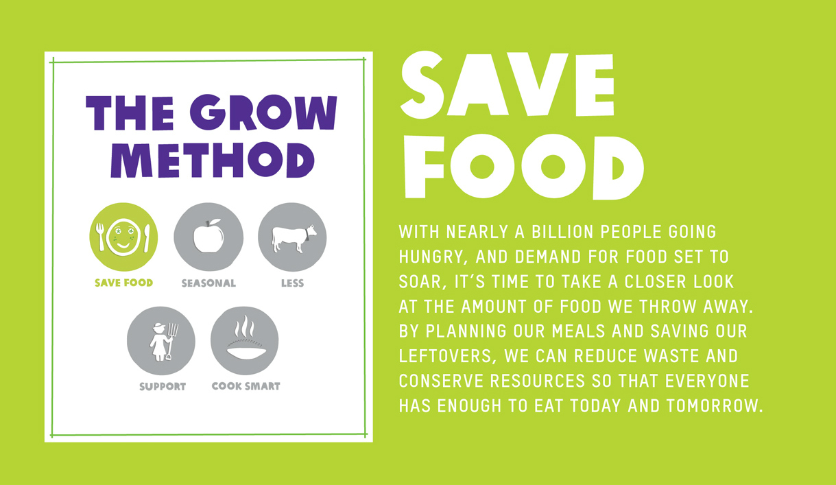 save food save planet The united nations' food and agriculture organization estimates that we must double the current level of food production to adequately feed a population predicted.