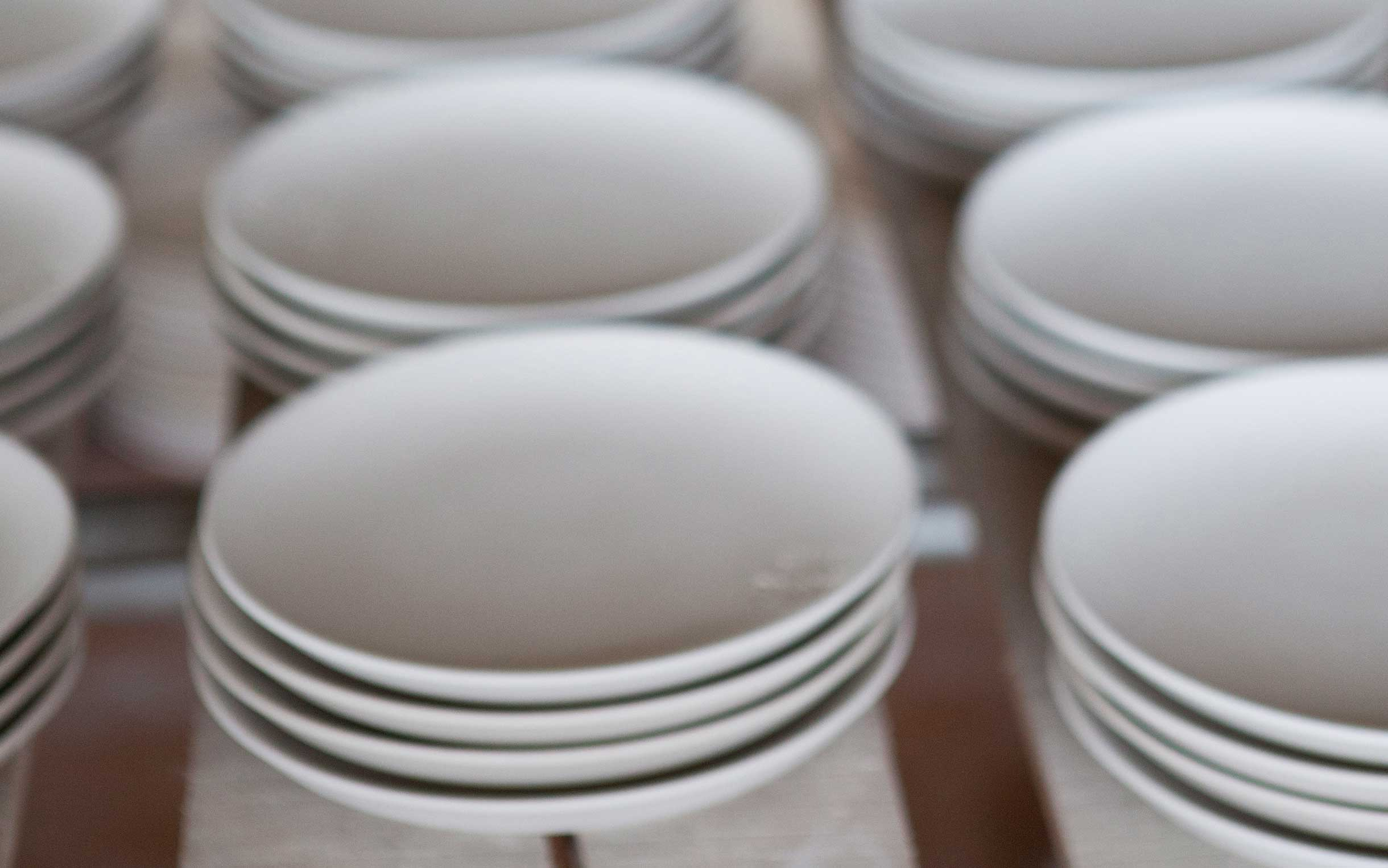 Ceramic plates in Vietnam. Photo: Bonnie Savage/Oxfam AUS
