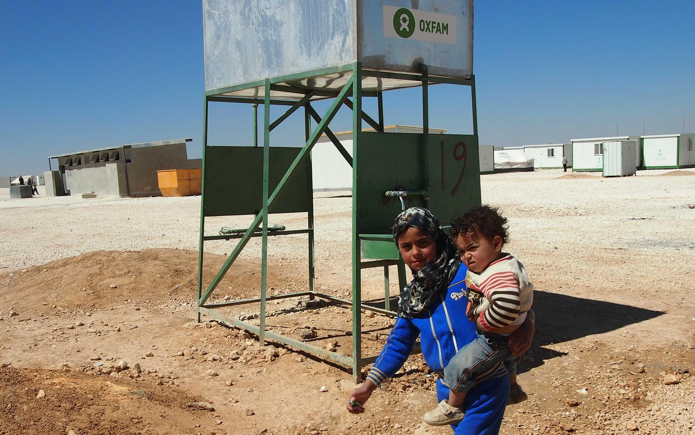Oxfam responding to the Syria refugee crisis