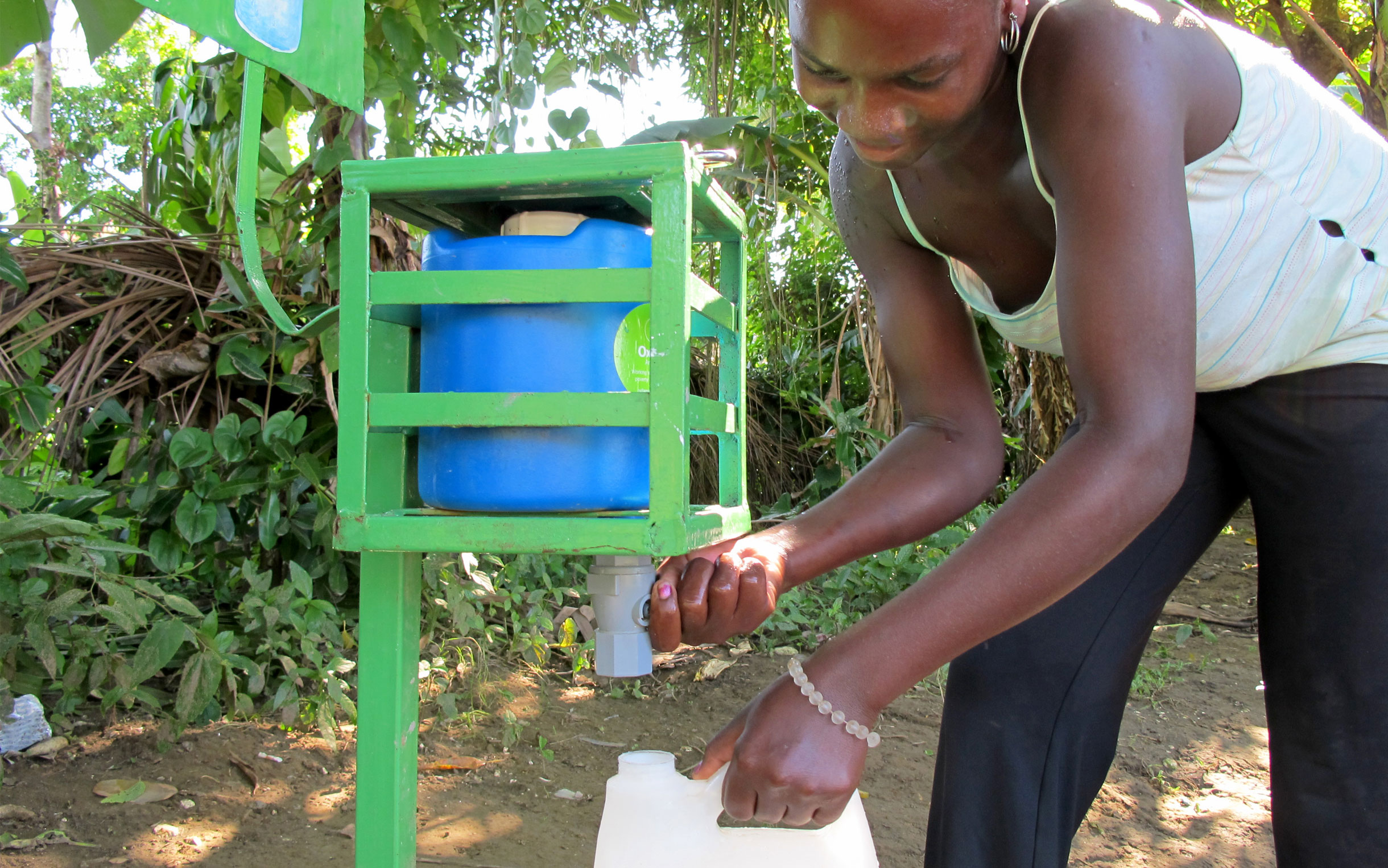 $120 can install 3 water purifiers at village wells