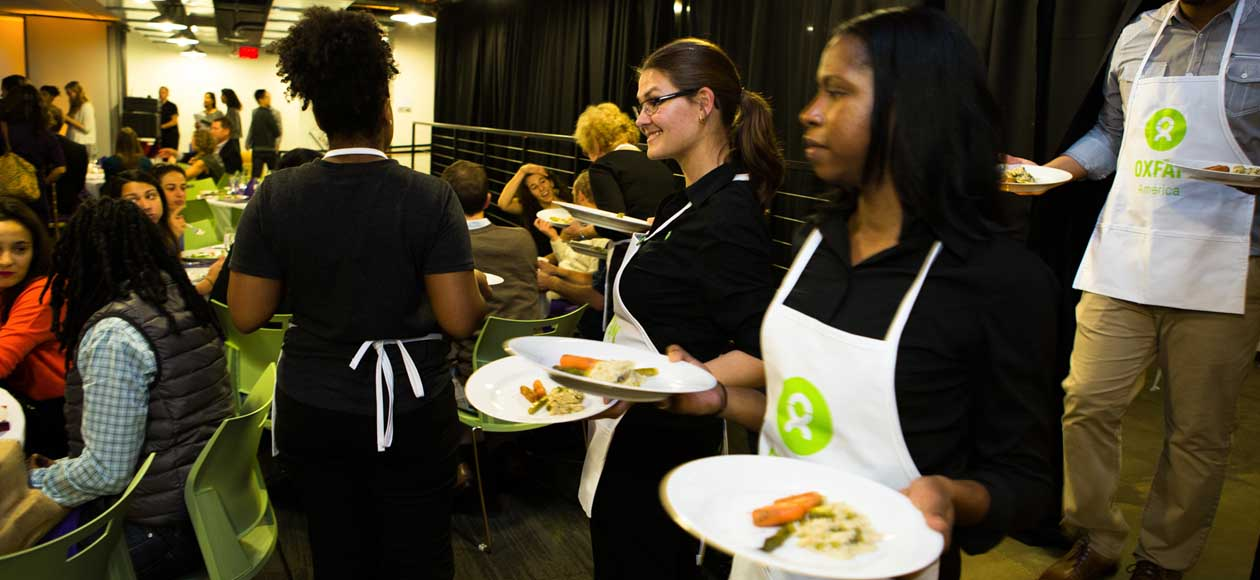 Host an Oxfam Hunger Banquet<sup>®</sup>