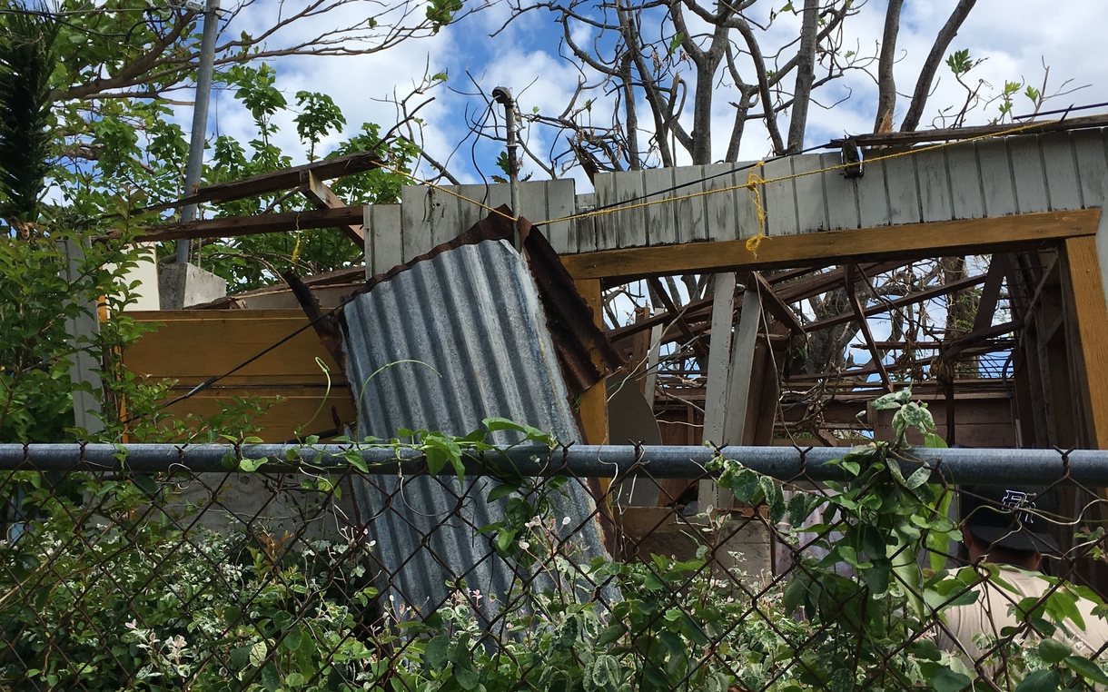 In Puerto Rico, a shortage of tarps and electricity means the misery ...
