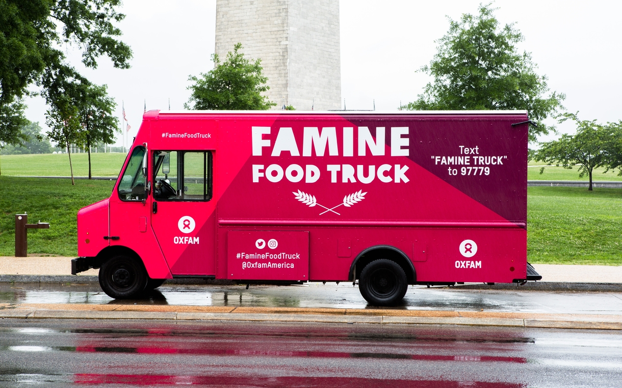 Why Isn T There Any Food In Oxfam S Food Truck Oxfam