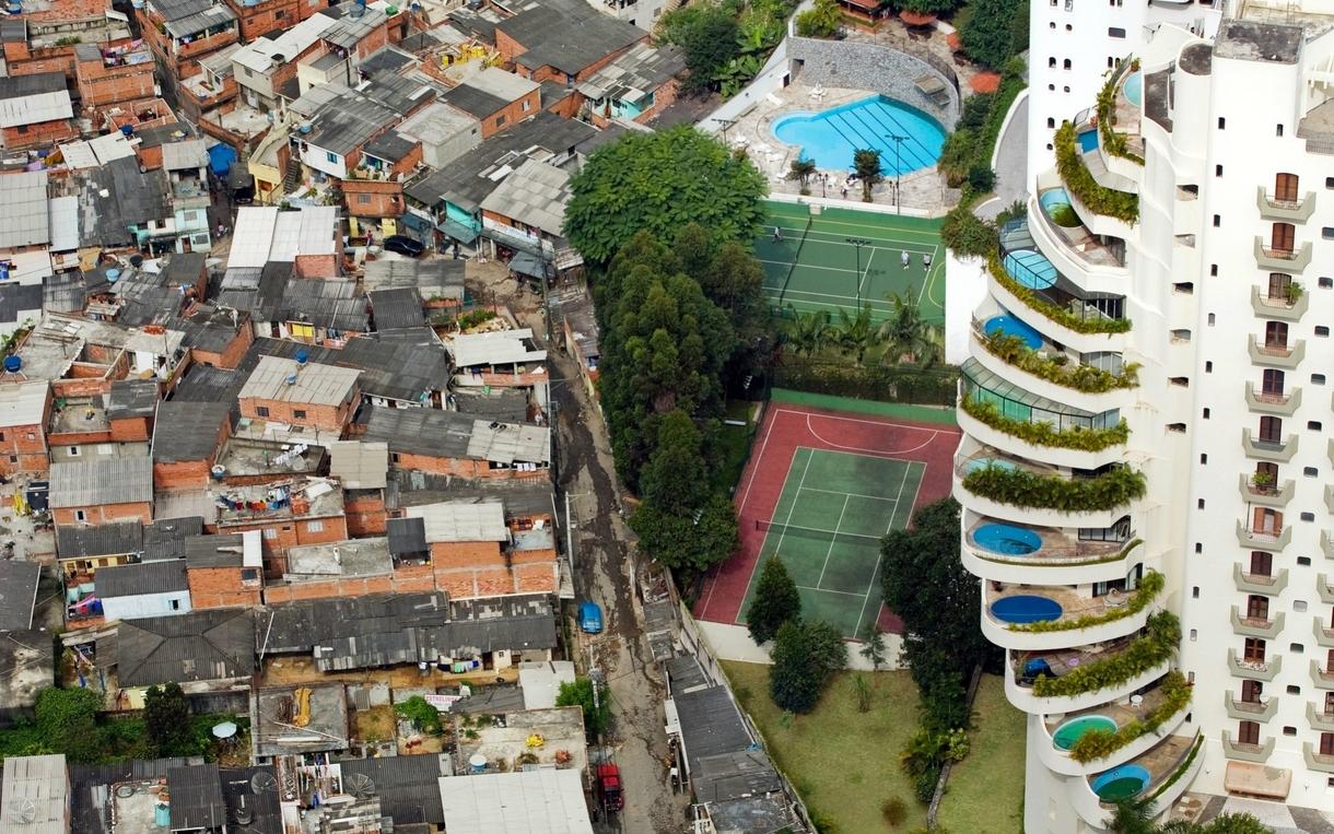 slums favelas ghettos and shanty towns