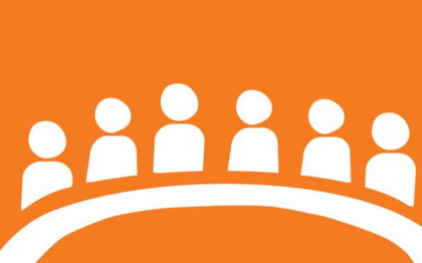 Leadership council icon.
