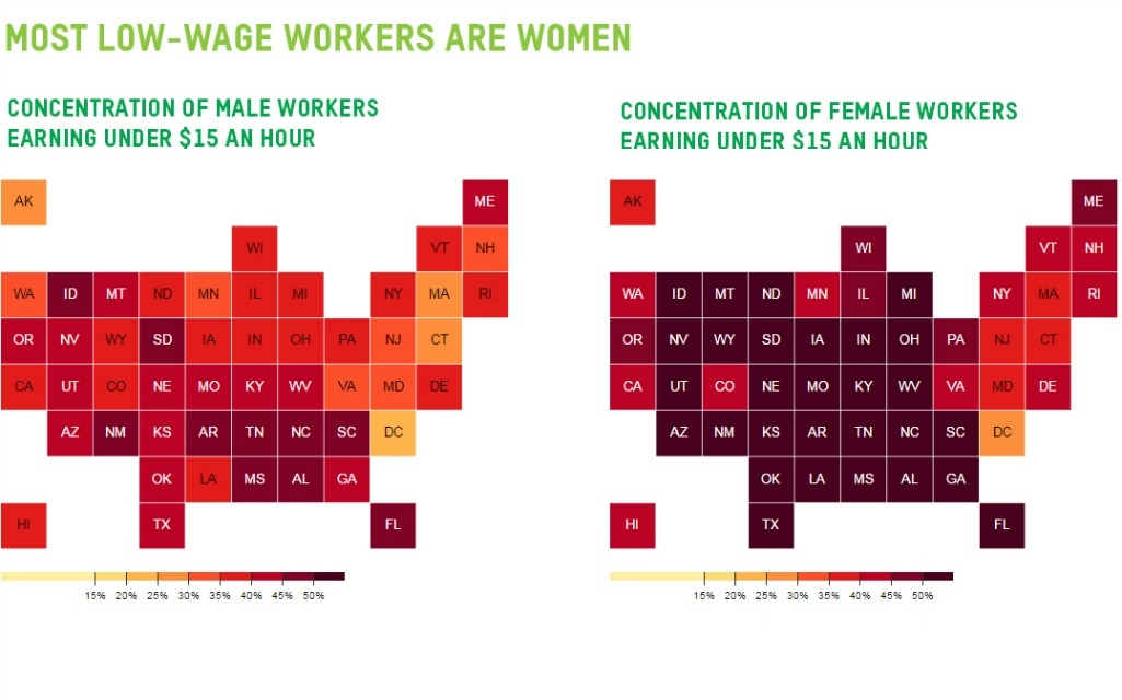 an analysis of low wage workers Low-wage workers are older and better educated than ever  figure 3 shows the results of an analysis that estimates where the minimum wage would have.