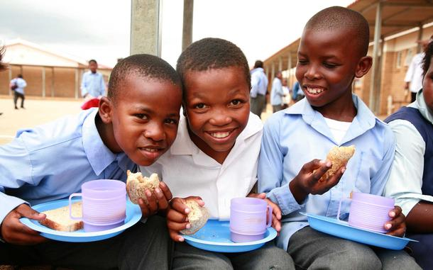 $35 can provide a child with 30 days of school meals