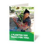 Plant 100 trees