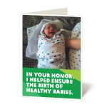 Ensure a healthy baby