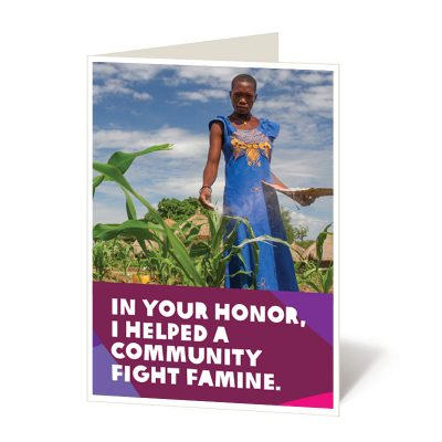 Help a community fight famine