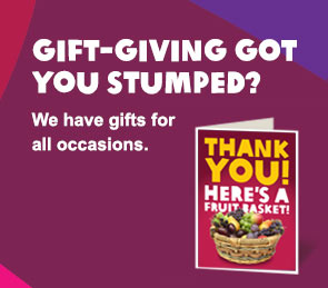 Gift-giving got you stumped? we have gifts for all occasions.