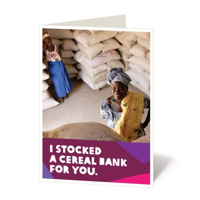 Stock a cereal bank