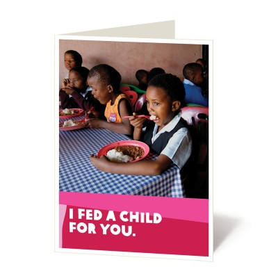A school meal program for one child