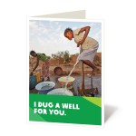 Dig a well