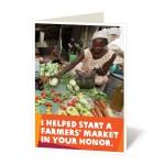 Help start a farmers' market