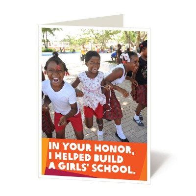 Help build a girls' school