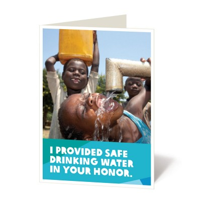 Safe drinking water for 1500 people