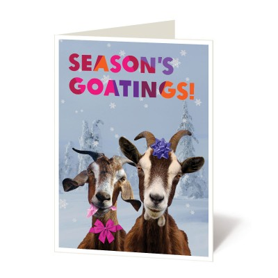 Season's goatings
