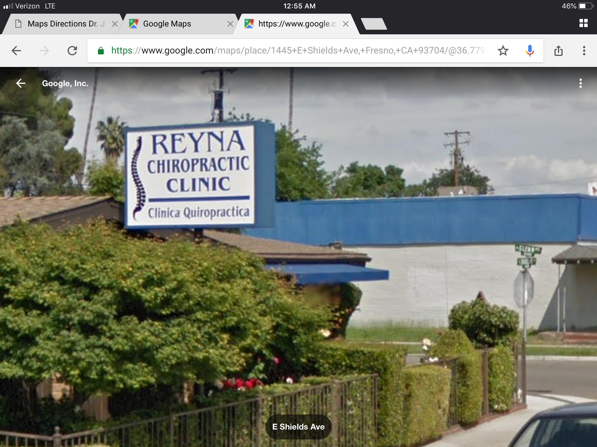 Reyna Chiropractic Clinic - Fresno, CA