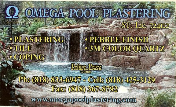 Omega Pool Remodeling Inc - Sylmar, CA