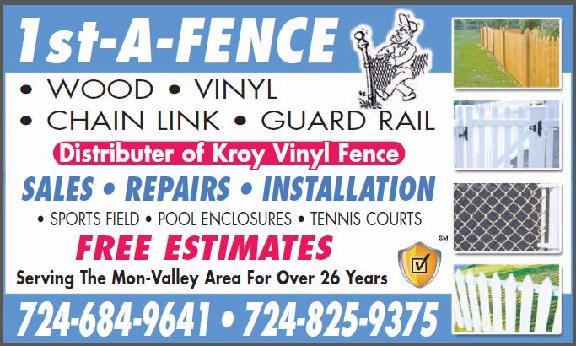 1st-A-Fence - Monessen, PA