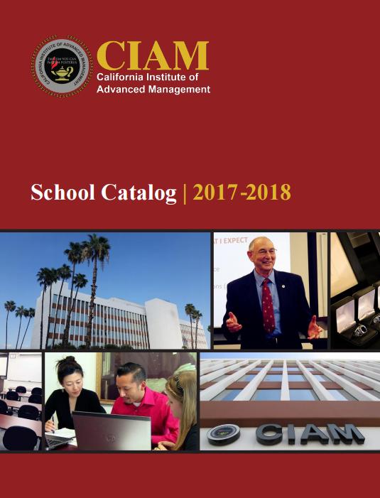 CIAM (California Institute of Advanced Management) - Alhambra, CA