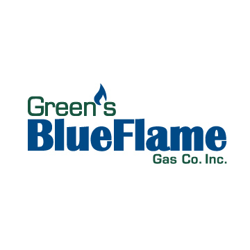 Green's Blue Flame Gas