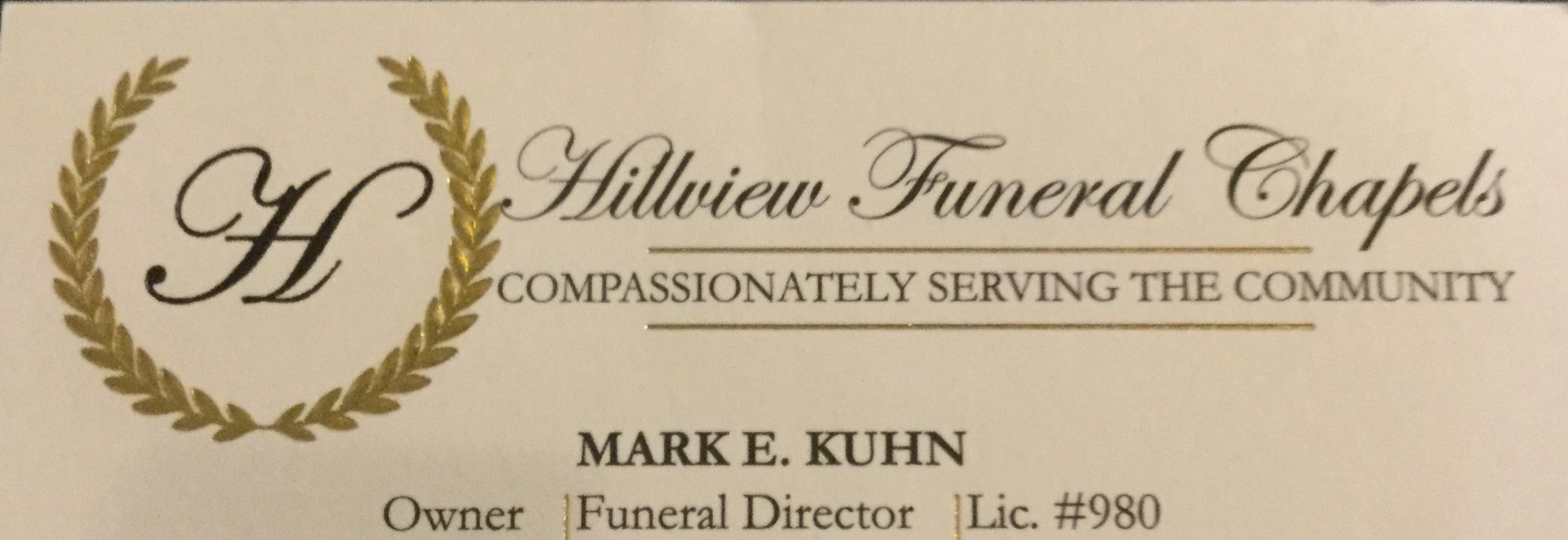 Hillview Funeral Chapels