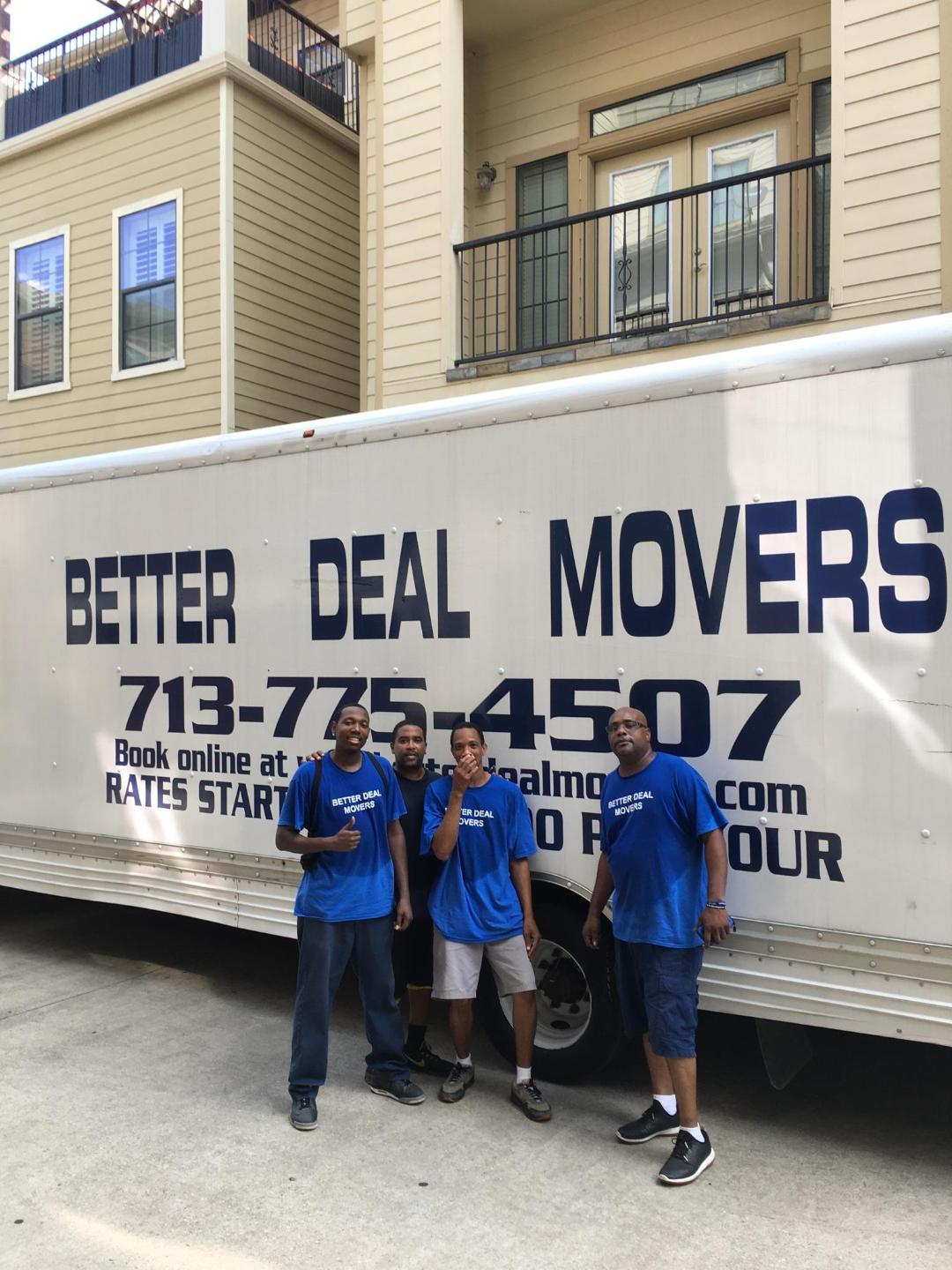Better Deal Movers - Katy, TX