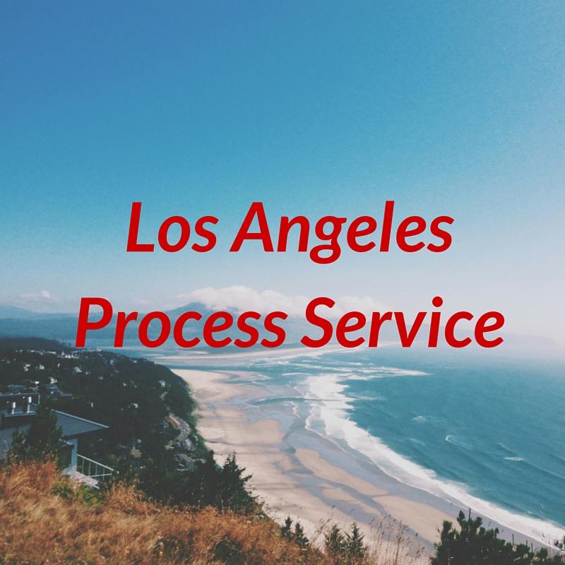 Los Angeles Process Service - Monterey Park, CA