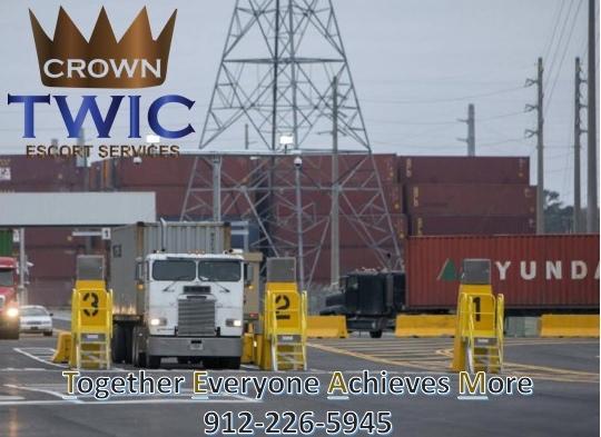 Crown TWIC Escort Services - Savannah, GA