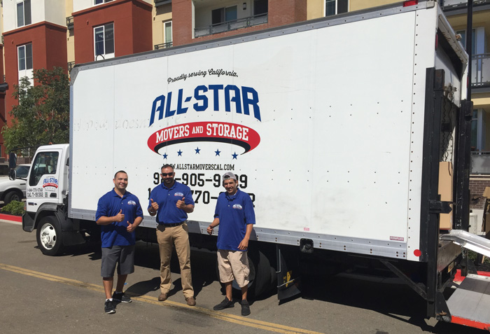 All Star Movers & Storage - Tracy, CA