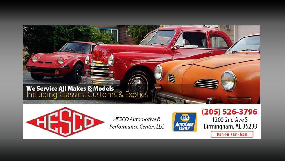 Hesco Automotive & Performance Center - Birmingham, AL