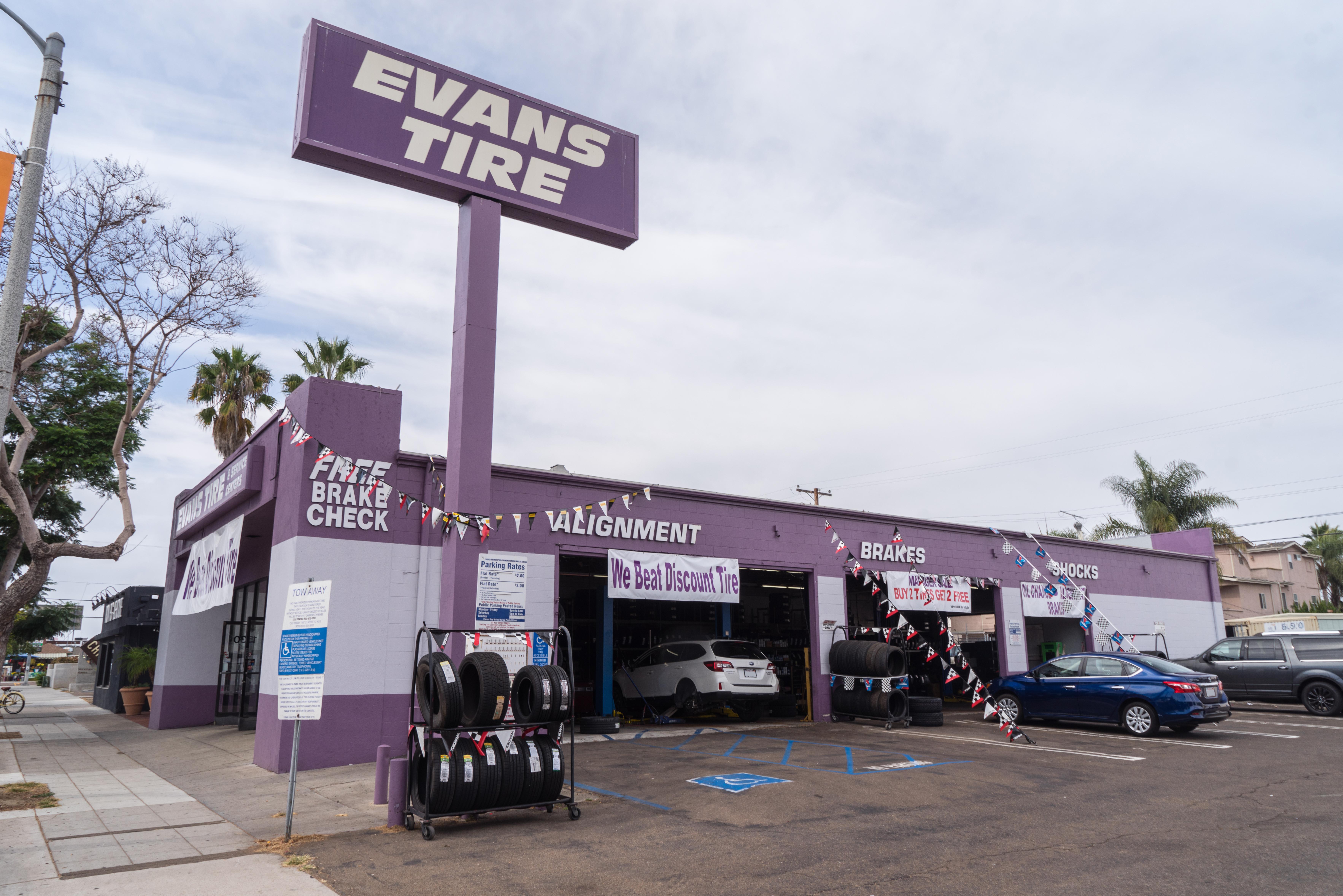Evans Tire & Service Centers - San Diego, CA