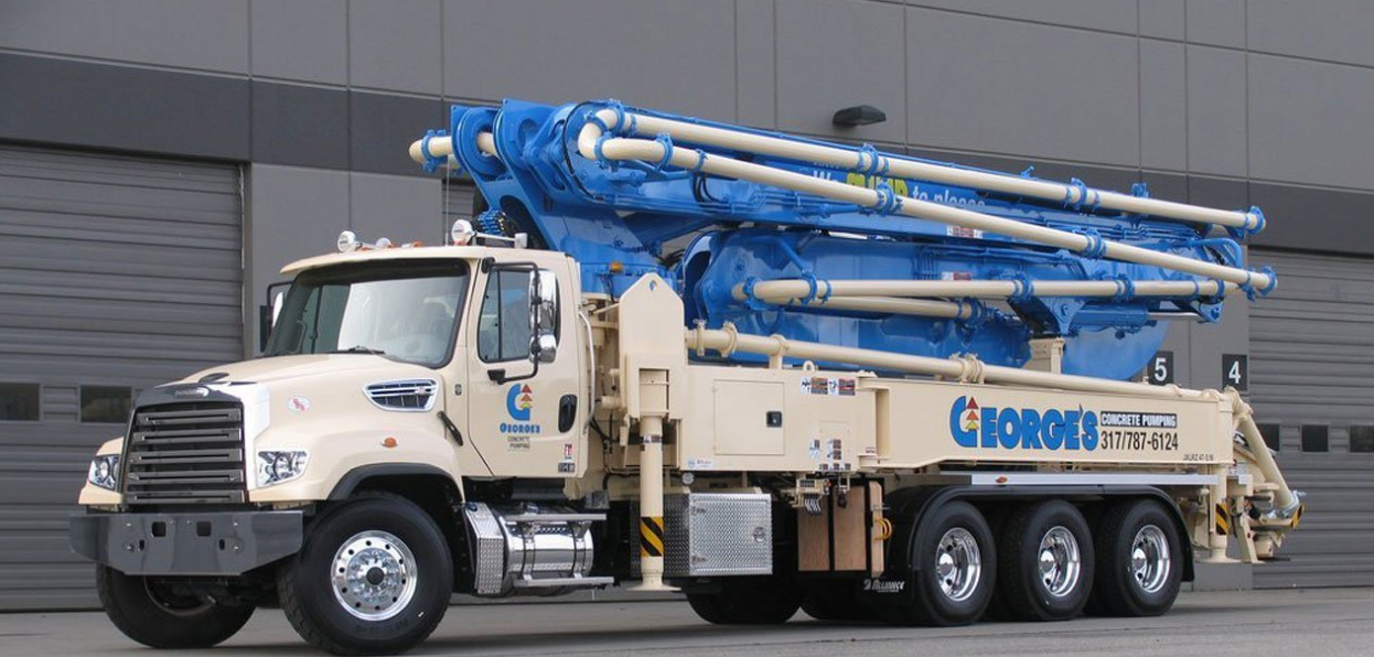 George's Concrete Pumping Services Inc - Indianapolis, IN