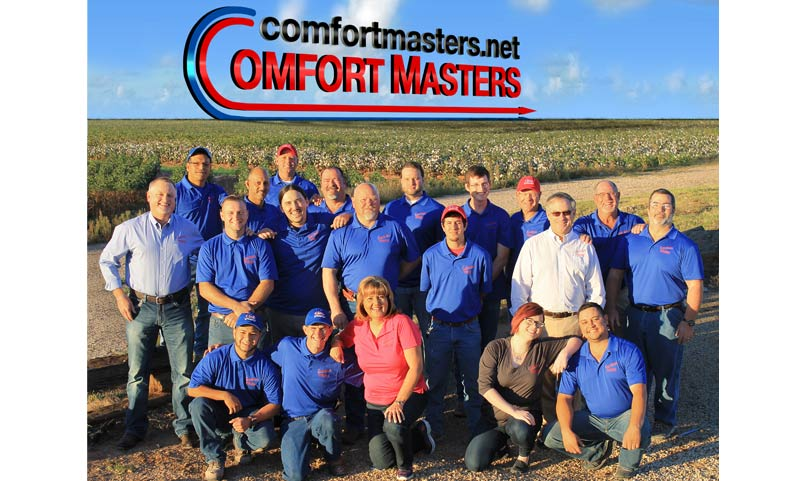 Comfort Masters Plumbing Heating and Air Conditioning - Lubbock, TX