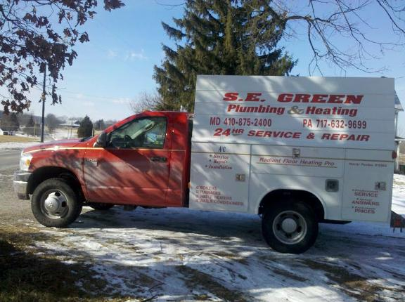 S E Green Plumbing Heating & Air Conditioning - Hanover, PA