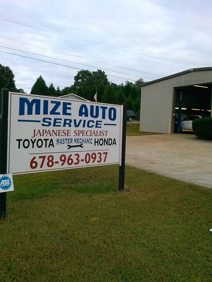 Mize Auto Service - Winder, GA