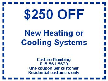 Vincent J Cestaro & Son Plumbing, Heating, & Air Conditioning - Newburgh, NY