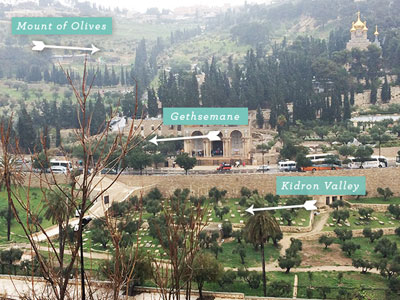 Kidron Valley Map