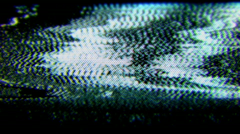 television and film static and electronic noise captured from an old television