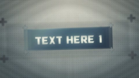 Fully customizable project with five different text fields supplied. Easily add more text by duplicating text comps and using the stylized glitch pre-renders. Four different glitch distortion pre-renders supplied from light to heavy distortions that can be used universally with any project. Very useful for stylized digital transitions.
