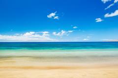 beach and tropical sea.
