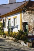 entrance to old house, tancos, portugal