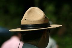 a park rangers hat