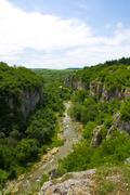 a view on the emen canyon, bulgaria.